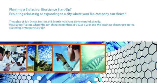 2015 Bio Industry White Paper for Tucson, Arizona