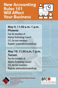 Details about workshops on reporting commercial real estate for lease.